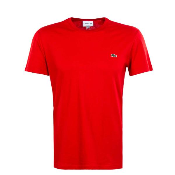 Herren T-Shirt - Short Sleeved Crew 2038 - Red