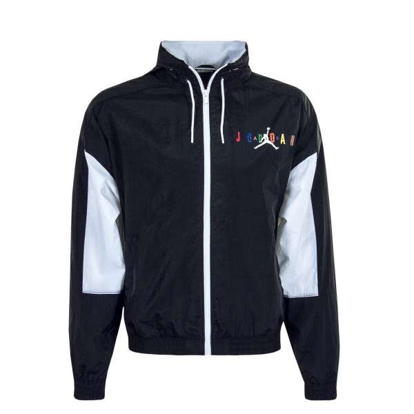 Herrenjacke Off Crt BBall Black White