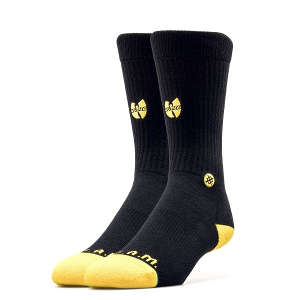 Stance Socks Anthem Wu Thang Patch Black