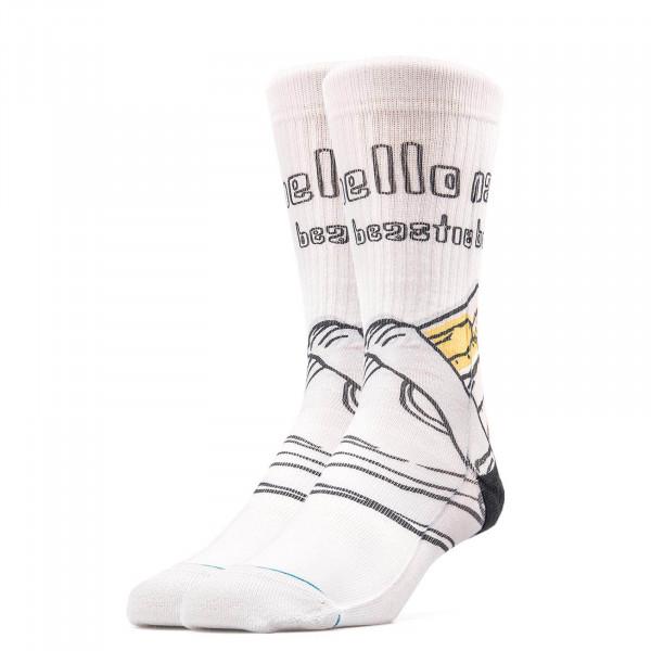 Stance Sock Foundation Hello Nasty White
