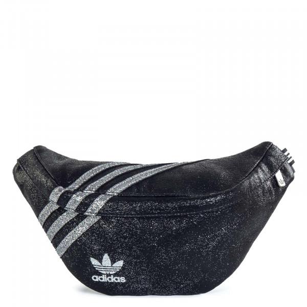 Tasche - Waistbag - Black / Silver