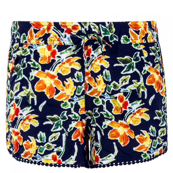 Damen Short 61531KA Navy Flower