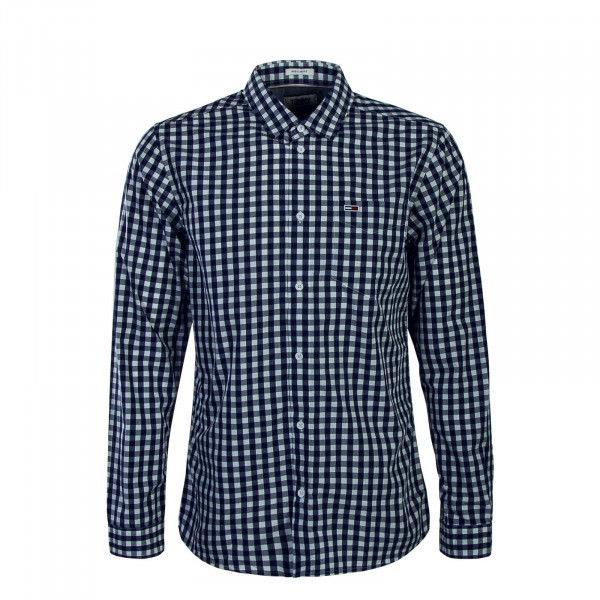Tommy Hemd TJM Gingham Blue White