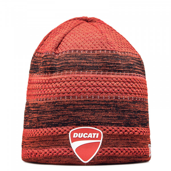 New Era Beanie Dukati Red Black