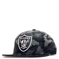 New Era Cap 9Fifty Raiders CamouflageBlk