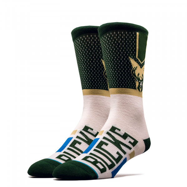Socken NBA Bucks Green White