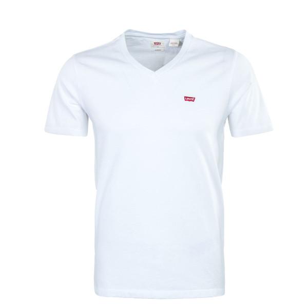 Herren T-Shirt - Original V Neck - White