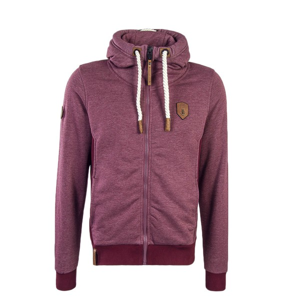 Naketano Sweatjkt Birol Bordeaux