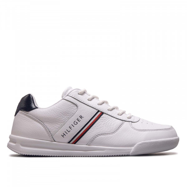 Herren Sneaker Lightweight Leather Mix Sneaker White
