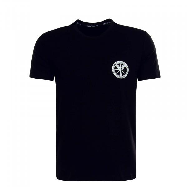 Herren T-Shirt C2416 Black White