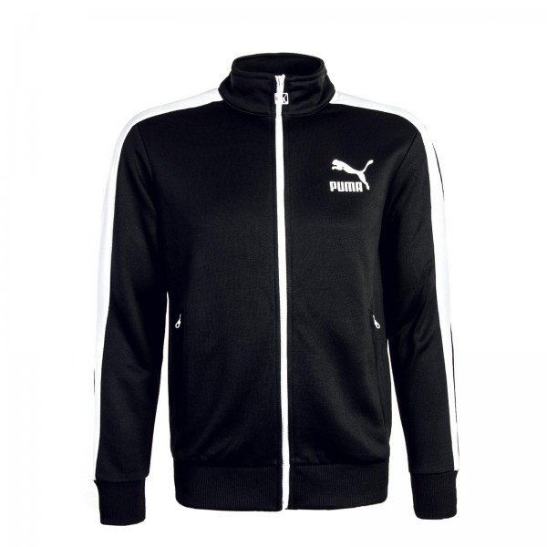 Puma Trainingjkt Archive T7 Black White