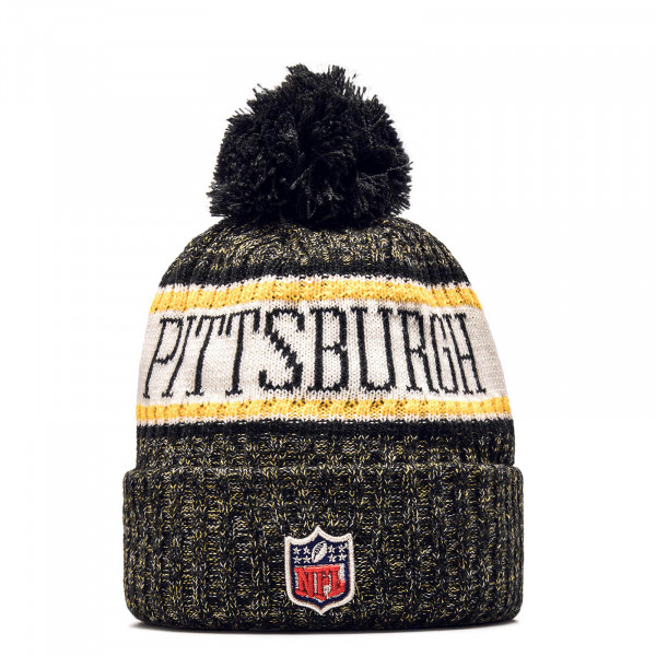 New Era Beanie Pitste Black Yellow