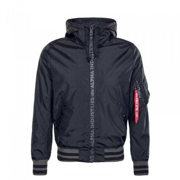 Herren Jacke - MA-1 LW Hooded - Black