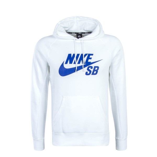 Nike Hoody SB Icon PO White Royal