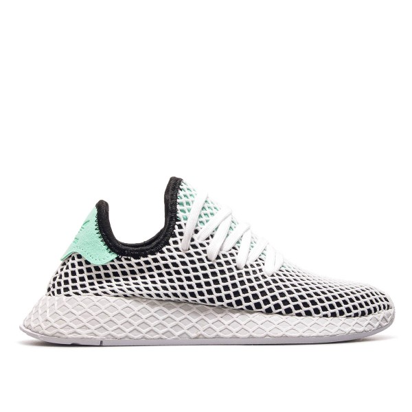Adidas U Deerupt Runner Black GreenWhite