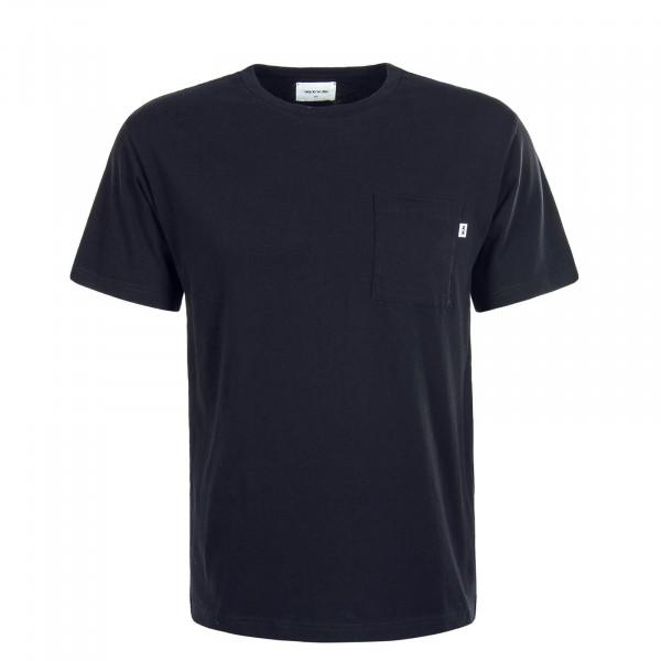 Herren T-Shirt  Bobo Pocket Black