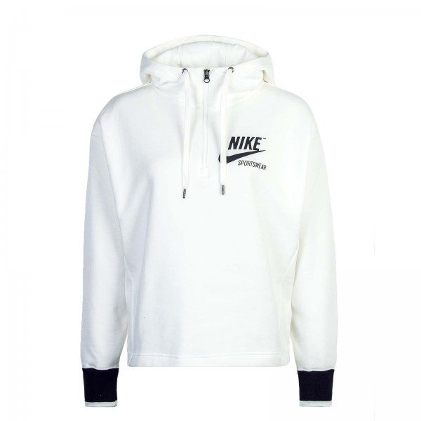 Nike Wmn Hoody NSW Archive White Black