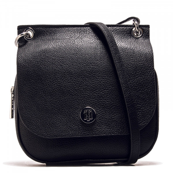 Tommy Bag Core Flap Crossover Black