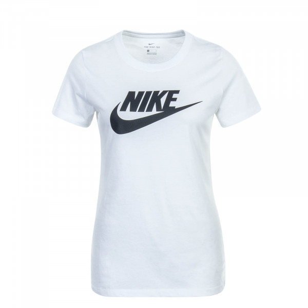 Damen T-Shirt  Essential Icon White Black
