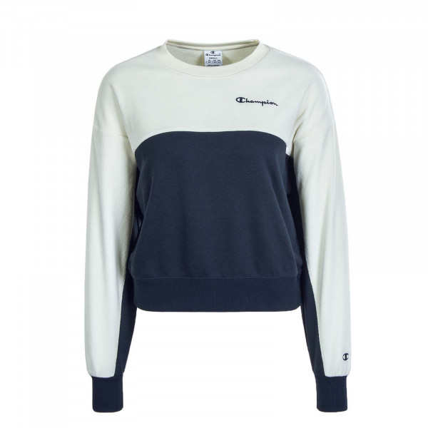 Damen Sweat 113232 Navy Off White