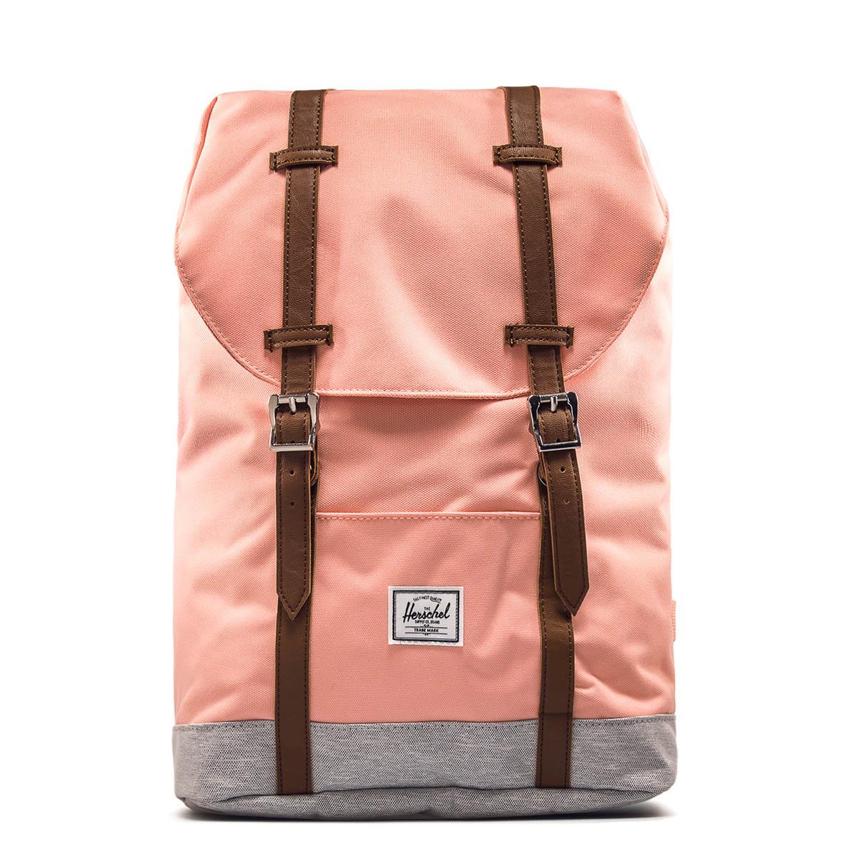 herschel backpack retreat peach lt grey r cks cke. Black Bedroom Furniture Sets. Home Design Ideas