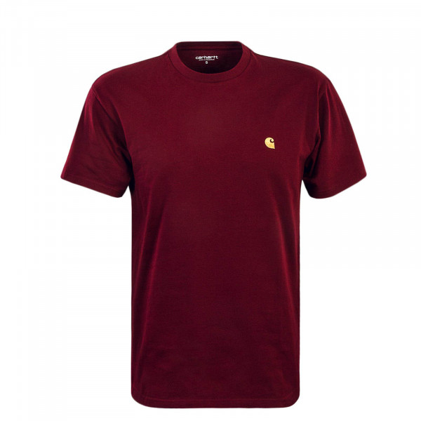 Herren T-Shirt Chase Cranberry Gold