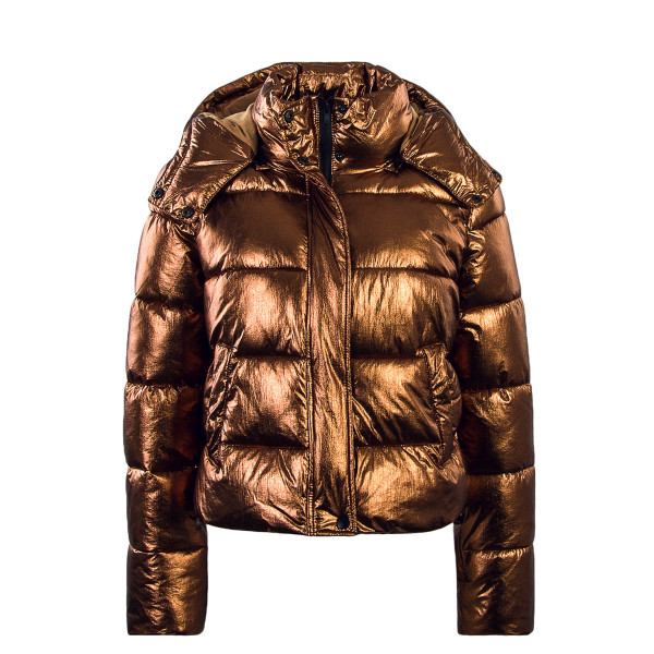 Only Jacke Jane Metallic Quilted Bronze