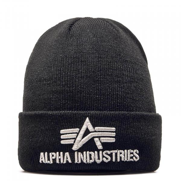 Alpha Beanie 3D Black
