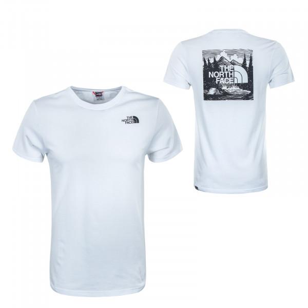 Herren T-Shirt - Redbox Celebration - White Black