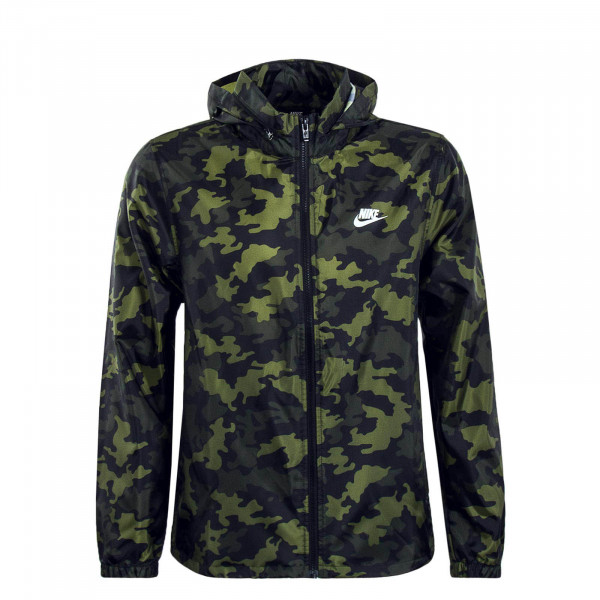 Herren Jacke Legion Camouflage Green Summit White