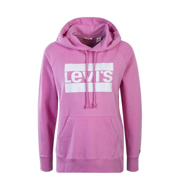 Levis Wmn Hoody Graphic Pink