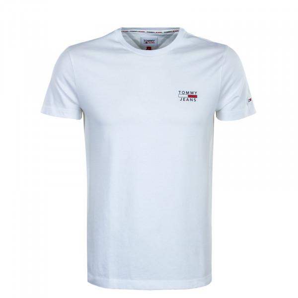 Herren T-Shirt - Chest Logo Tee 10099 - White