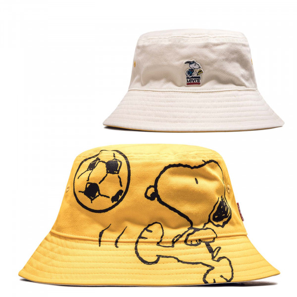 Hut Reversible Snoopy Sport Bucket Yello