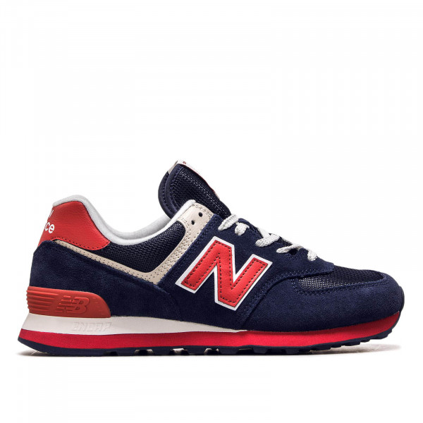 Herren Sneaker ML 574 MUA Navy Red