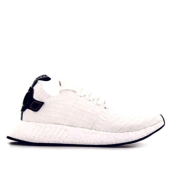 Adidas NMD R2  White Black Red