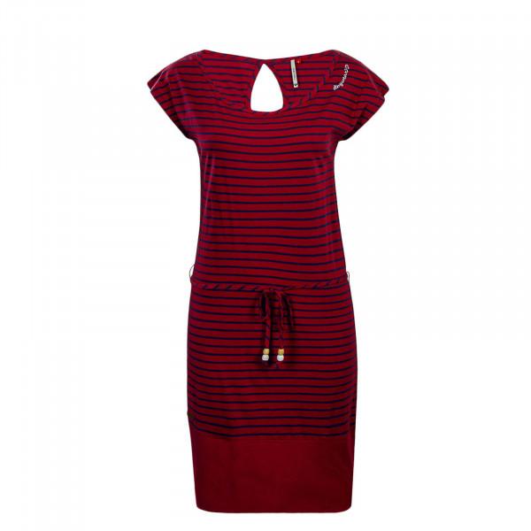 Ragwear Dress Soho Stripes Red