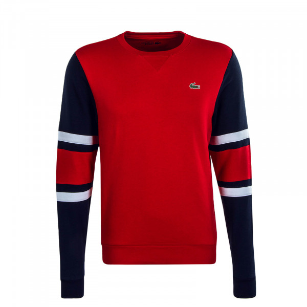 Herren Sweatshirt 8654  Red Navy