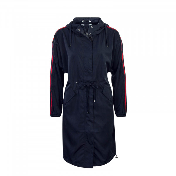 Damen Mantel Evelyn Spring Coat Navy Red
