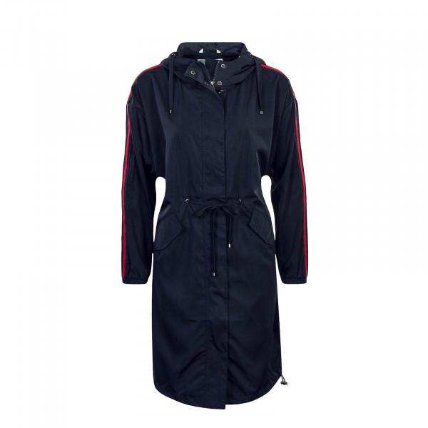 Damen Mantel Evelyn Spring Coat Navy Red
