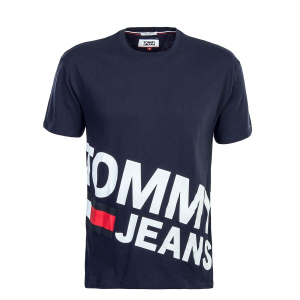 Tommy TS Magnified Navy White
