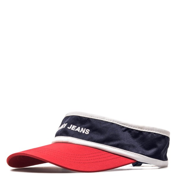 Tommy Visor Logo 0139  Navy Red