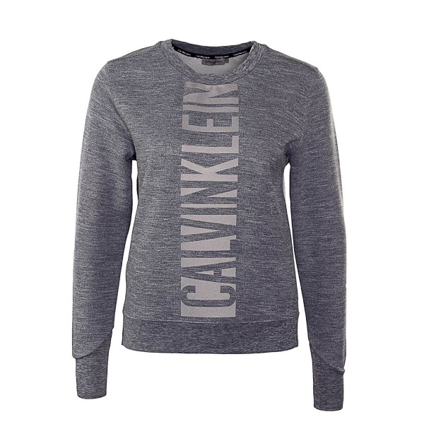 Calvin Klein Wmn Sweat Crew Dark Grey