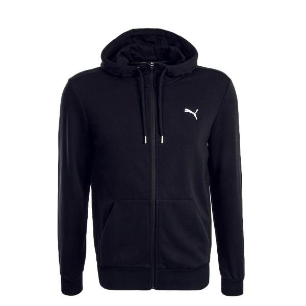 Puma Sweatjkt ESS FZ Black