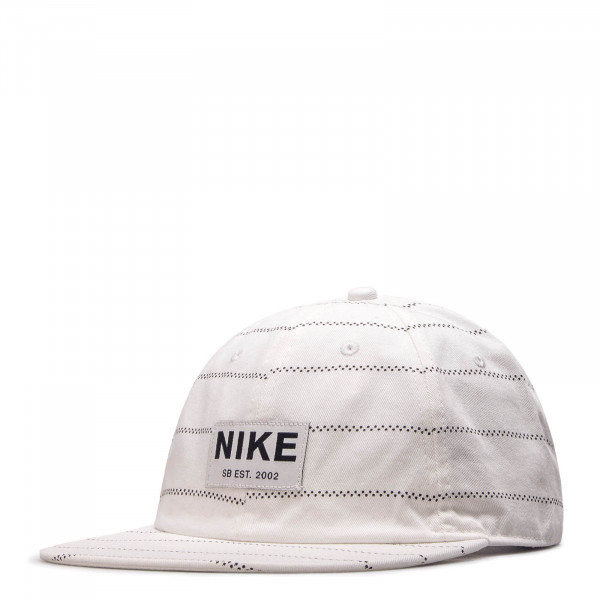 Cap H86 Washed White Black