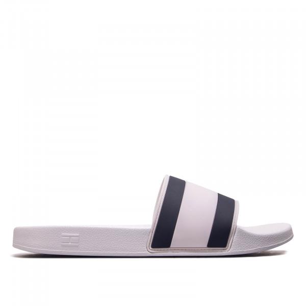Herren Slide Essential Pool Flag White
