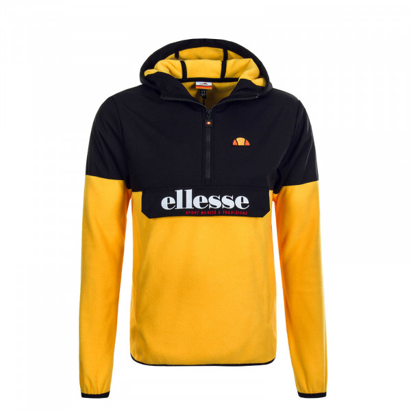 Herren Fleece Breaker Esine Black Orange