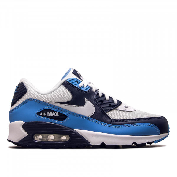 Herren Sneaker Air Max 90 Essential White Navy Blue