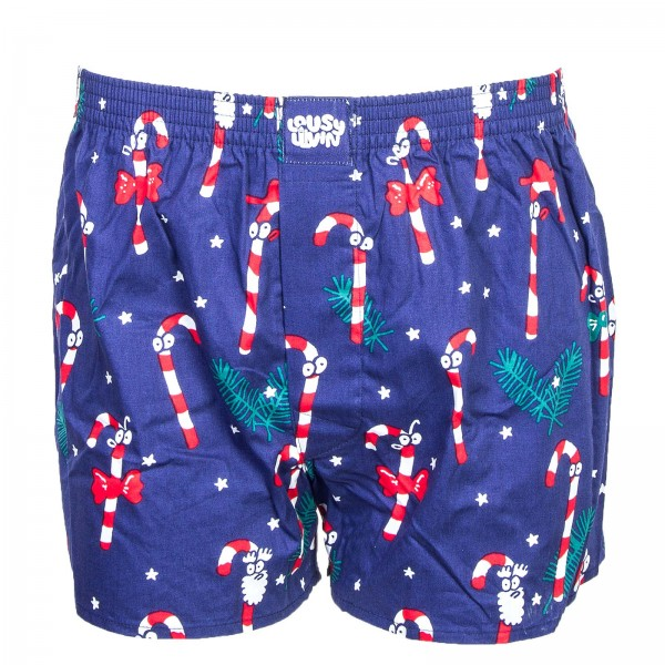 Lousy Livin Boxer Sugar Sticks Navy