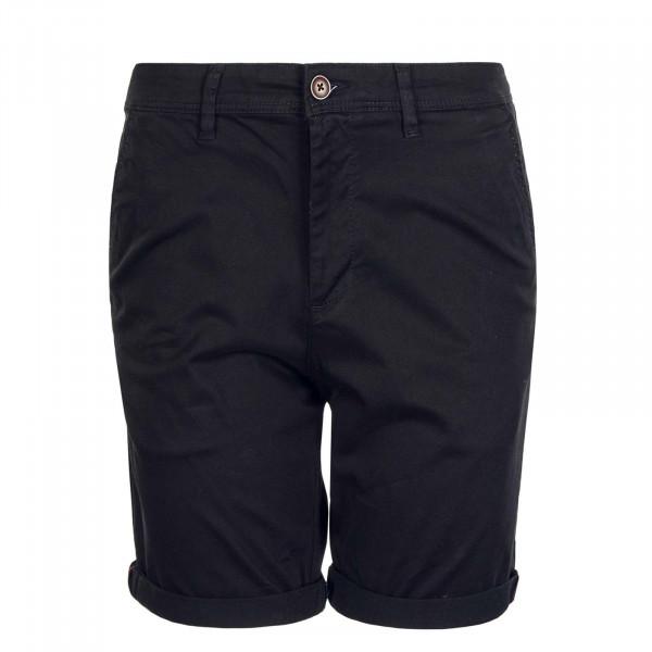 Herren Shorts Bowie JJ Solid Black