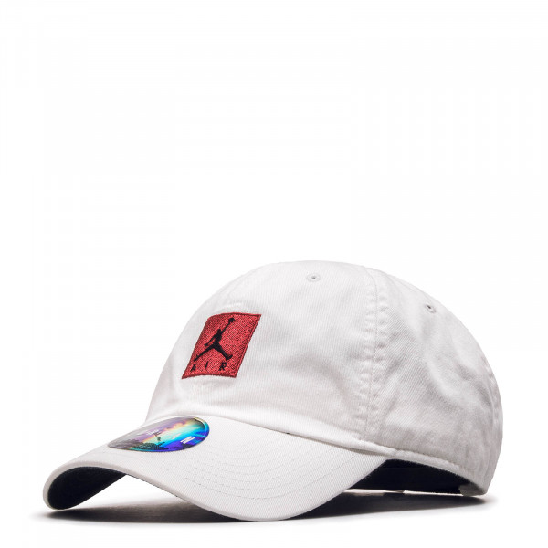 Jordan Cap H86 Jumpman Air White Red Blk